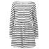 Gestuz Women's Deidre Belted Waist Shift Dress - White/Black: Image 1