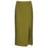 C/MEO COLLECTIVE Women's Perfect Lie Pencil Skirt - Khaki: Image 1