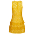 MICHAEL MICHAEL KORS Women's Lace Tier Dress - Sunflower: Image 2