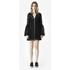 McQ Alexander McQueen Women's A Line Lace Dress - Black: Image 2