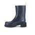 Ilse Jacobsen Women's Contrast Short Rubber Boots - Dark Indigo: Image 4