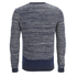 Folk Men's Crew Neck Knit Jumper - Ecru/Bright Navy: Image 2