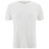 Folk Men's Plain Crew Neck T-Shirt - White: Image 1