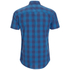 Produkt Men's Short Sleeve Checked Shirt - Dress Blue: Image 2