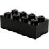 LEGO Storage Brick 8 - Black: Image 1