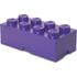 Brique de rangement LEGO® Violette 8 tenons: Image 2