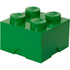 LEGO Storage Brick 4 - Dark Green: Image 1