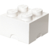 LEGO Storage Brick 4 - White: Image 1