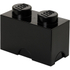 LEGO Storage Brick 2- Black: Image 1