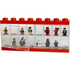 LEGO Mini Figure Display (16 Minifigures) - Bright Red: Image 2