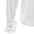 Karl Lagerfeld Women's Silk Ruffle Cuff Blouse - White: Image 4