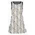 Karl Lagerfeld Women's Fringed Karl Jacquard Dress - White: Image 1
