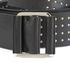 McQ Alexander McQueen Women's Knot Buckle Belt - Black: Image 3