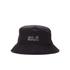 Jack Wolfskin Men's Texapore Rain Hat - Black: Image 1