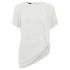Designers Remix Women's Rion Knot T-Shirt - White: Image 1