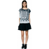 Designers Remix Women's Tilt Graphic Top - Black/White: Image 2