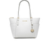 MICHAEL MICHAEL KORS Women's East West Tote Bag - Optic White: Image 1