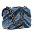 MICHAEL MICHAEL KORS Women's Sloan Small Denim Crossbody Bag - Multi/Blue: Image 3