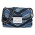 MICHAEL MICHAEL KORS Women's Sloan Small Denim Crossbody Bag - Multi/Blue: Image 1