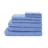 Highams 100% Cotton 7 Piece Towel Bale (550gsm) - Blue: Image 1