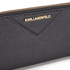 Karl Lagerfeld Women's K/Klassik Zip Around Purse - Black: Image 3
