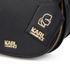 Karl Lagerfeld Women's K/Grainy Satchel Bag - Black: Image 4