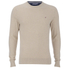 Tommy Hilfiger Men's Cotton Linen Crew Neck Jumper - Oyster: Image 1