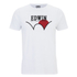 Edwin Men's Red Dot 1 Logo T-Shirt - White: Image 1
