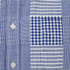 Edwin Men's Short Sleeve Patchwork Shirt - Blue: Image 3