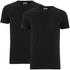Edwin Men's Double Pack Short Sleeve T-Shirt - Black: Image 1