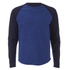 Edwin Men's Huey Long Sleeve Jersey Sweatshirt - Indigo: Image 1