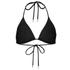 Orlebar Brown Women's Nicoletta Bikini Top - Black: Image 2