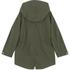 Maison Kitsuné Women's Coated Parker Jacket - Khaki: Image 2