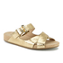 MICHAEL MICHAEL KORS Women's Sawyer Slide Sandals - Pale Gold: Image 2