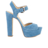 MICHAEL MICHAEL KORS Women's Kincade Platform Sandals - Denim: Image 1