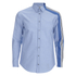 MSGM Men's Side Stripe Shirt - Blue: Image 1