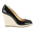 MICHAEL MICHAEL KORS Women's Keegan Wedge Court Shoes - Black: Image 1