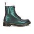 Dr. Martens Women's 1460 Lace Up Boots - Green Tracer: Image 1