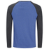 Brave Soul Men's Rasmus Grandad Long Sleeved Top - Ocean Blue/Charcoal: Image 2
