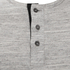 Brave Soul Men's Jeffrey Button Long Sleeved Top - Light Grey: Image 3