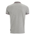 Crosshatch Men's Downtalk Tipped Polo Shirt - Grey Marl: Image 2