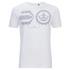 Crosshatch Men's Baseline T-Shirt - White: Image 1
