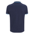 Crosshatch Men's Downtalk Tipped Polo Shirt - Iris Navy: Image 2
