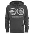 Crosshatch Men's Arowana Hoody - Magnet: Image 1