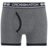 Crosshatch Men's Pixflix 2-Pack Boxers - Charcoal Marl: Image 3