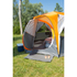 Coleman Cortes Octagon Tent (8 Person) - Grey/Orange: Image 5