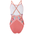 MINKPINK Women's Bloomin Beach Cross Over Low Back One Piece Swim Suit - Pink: Image 2