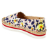 Jil Sander Navy Women's Graphic Flowers Espadrilles - Red/White: Image 4