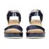 Jil Sander Navy Women's Heeled Sandals - Navy: Image 4