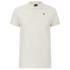 Scotch & Soda Men's Garment Dyed Pique Polo Shirt - Bone White: Image 1
